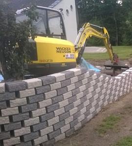 Oporni zidovi – skalnati ali iz cepljenih zidakov