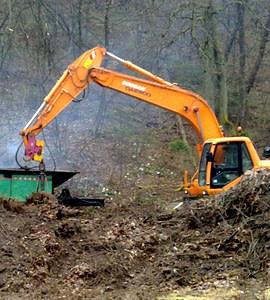 Predelava zelenega odpada v kompost